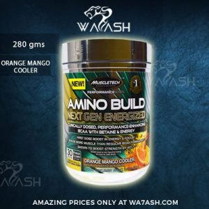 (Muscletech) Amino Build Next Gen Energized, Orange Mango Cooler