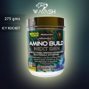 (Muscletech) Amino Build Next Gen Energized, Icy Rocket Freeze