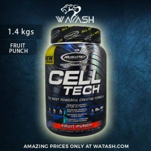 (Muscletech) Cell Tech, The Most Powerful Creatine Formula, Fruit Punch